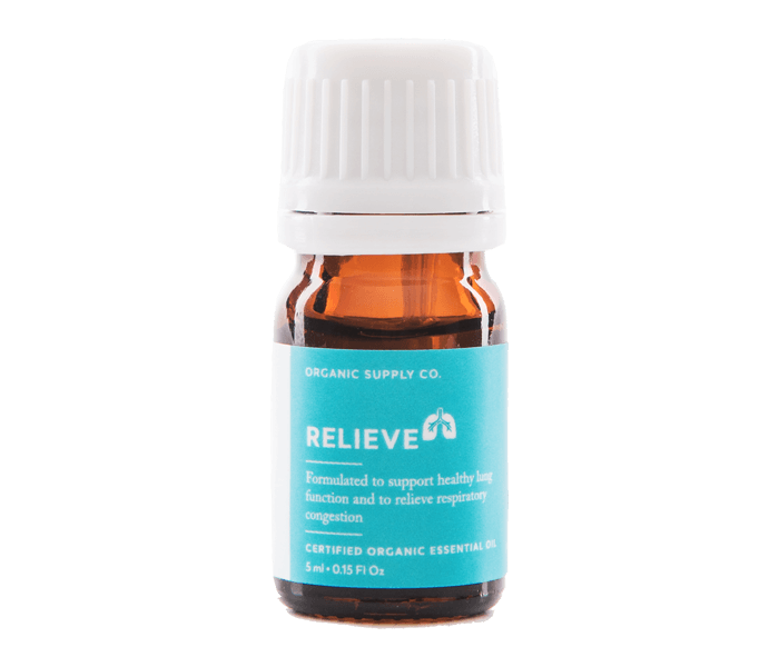 Organic Supply Relieve Essential Oil 10ml