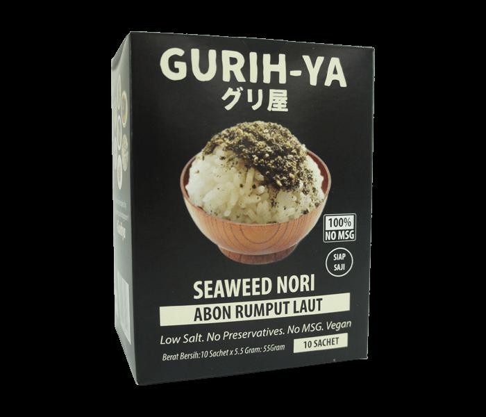 Jual Gurih-Ya Abon Rumput Laut Original Box Sachet hanya di Lemonilo.com