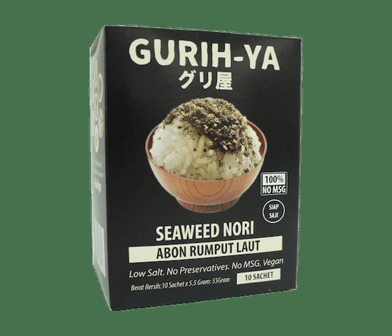 Gurih-Ya Abon Rumput Laut Original Box Sachet