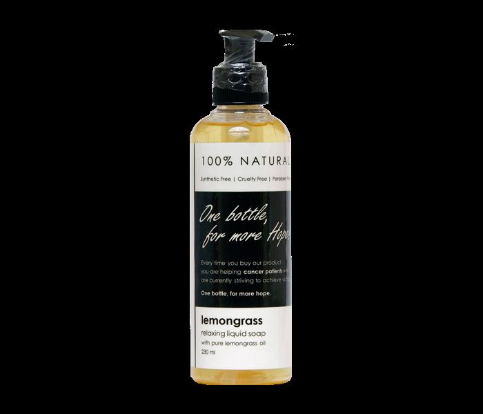 Ava Natural Lemongrass Relaxing Liquid Soap