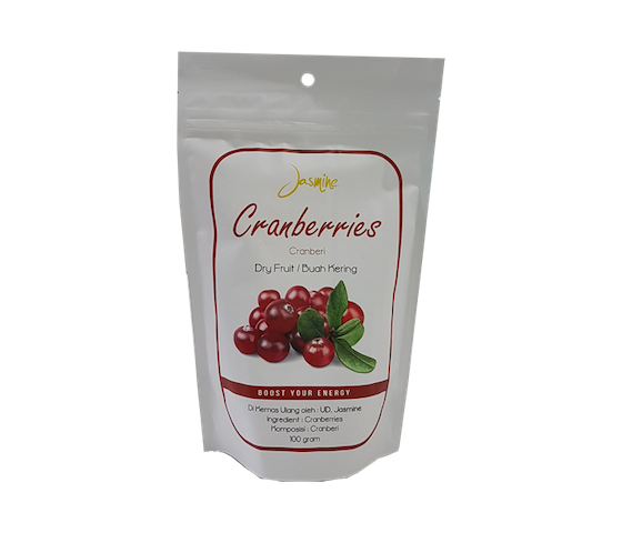 Jasmine Cranberries Dry Fruit 100 gr