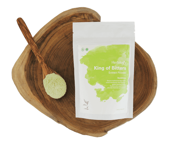 Herbilogy King of Bitters (Sambiloto) Extract Powder