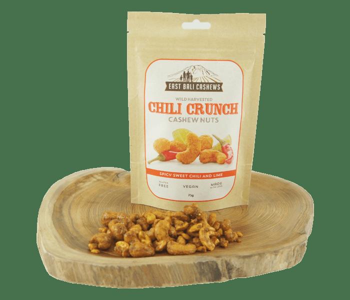 Jual East Bali Cashews Kacang Mede Pedas Manis 75 gr hanya di Lemonilo.com