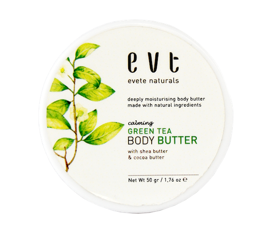 Evete Naturals Calming Green Tea Body Butter 50 gr