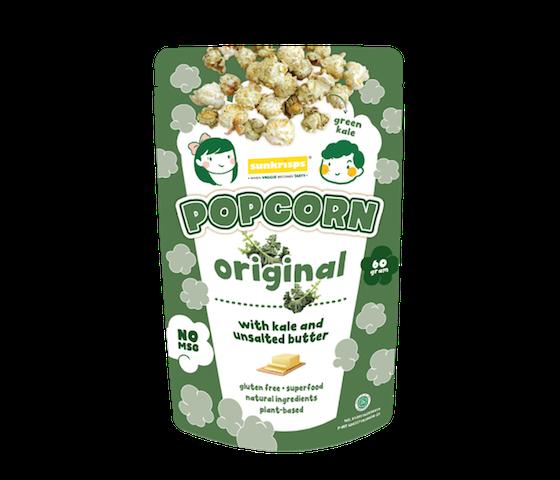 Sunkrisps Popcorn Kale Original 60 gr