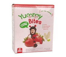 Yummy Bites Cracker Beras Strawberry