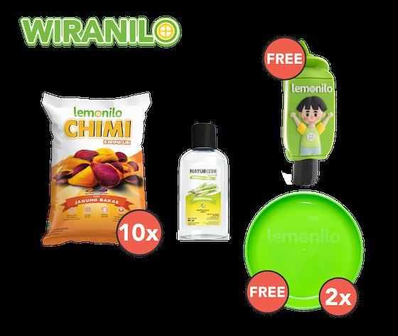 Paket Chimi Ubi & Naturizer GRATIS Holder Naturizer & 2 Piring - Wiranilo