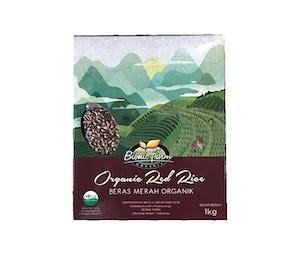 Bionic Farm Organic Red Rice (Beras Merah Organik) 1 Kg