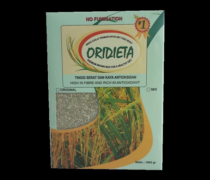 Oridieta Beras Cokelat 1.8 Kg