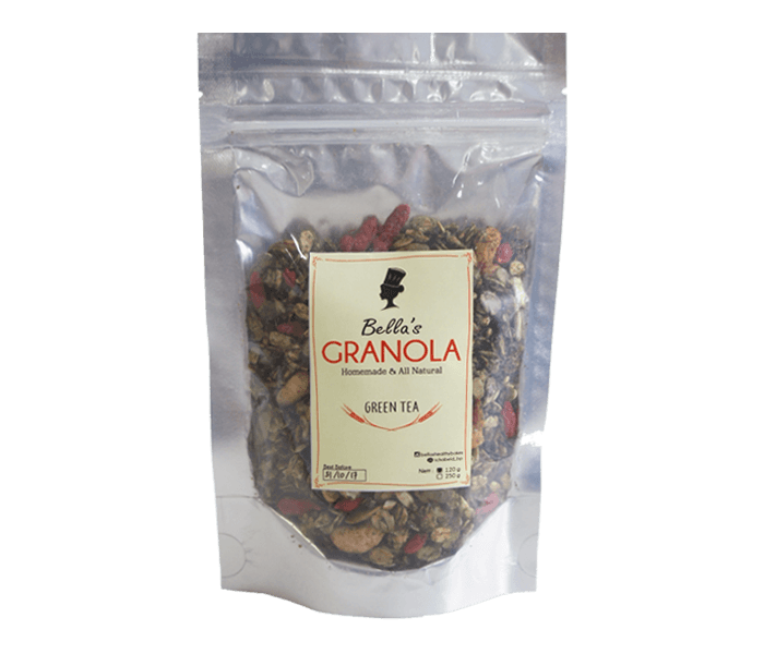 Bella's Granola Green Tea 250 gr