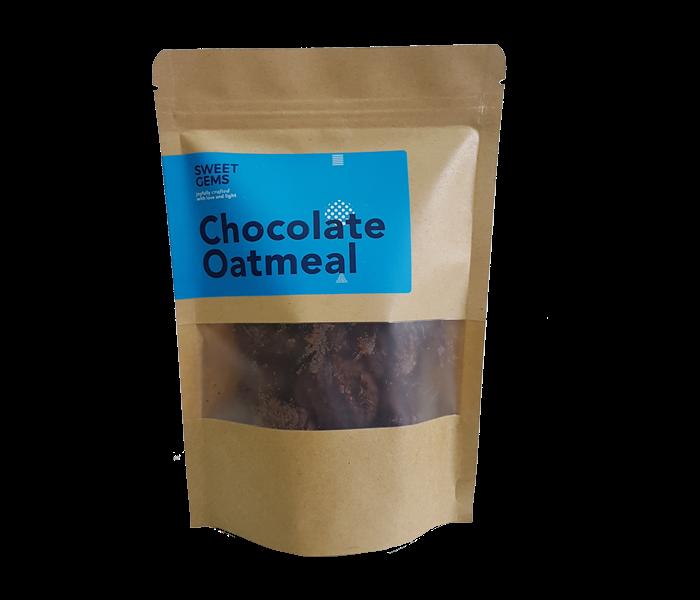 Sweet Gems Chocolate Oatmeal Cookies 125 gr