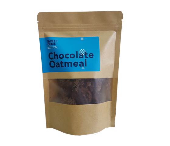Sweet Gems Chocolate Oatmeal Cookies 125 gr