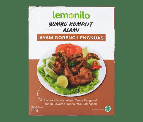 Lemonilo Bumbu Komplit Alami Ayam Goreng Lengkuas 90 gr