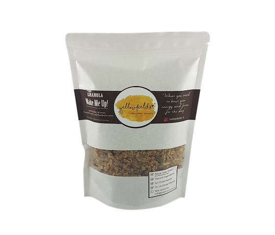 Yellowfields Wake Me Up Coffee Granola 400 gram