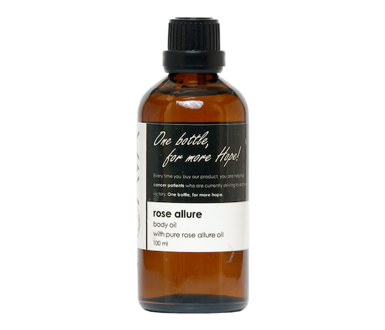 Ava Natural Body Oil Rose Allure