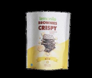[Pre Order] Lemonilo Brownies Crispy Rasa Keju 40 gr