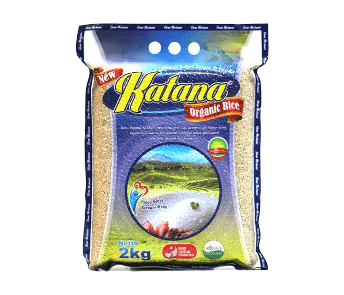 Katana Beras Cokelat Organik 2 Kg