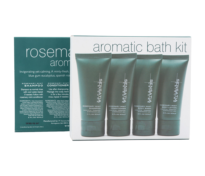 Sensatia Leisure Rosemary Mint Aromatic Bath Kit 60 ml