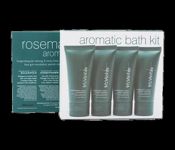Sensatia Leisure Rosemary Mint Aromatic Bath Kit 60 ml