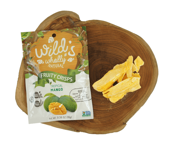 Wild's Wholly Natural Fruity Crisps Keripik Mangga