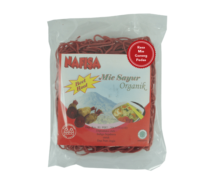 Jual Nafisa Mie Goreng Pedas Instan Bit Tanpa Minyak hanya di Lemonilo.com