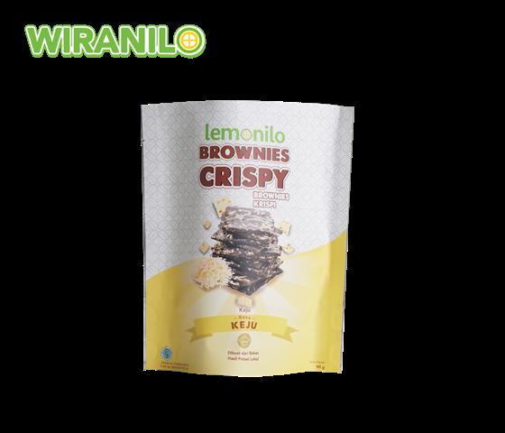 Lemonilo Brownies Crispy Rasa Keju 40 gr - Wiranilo