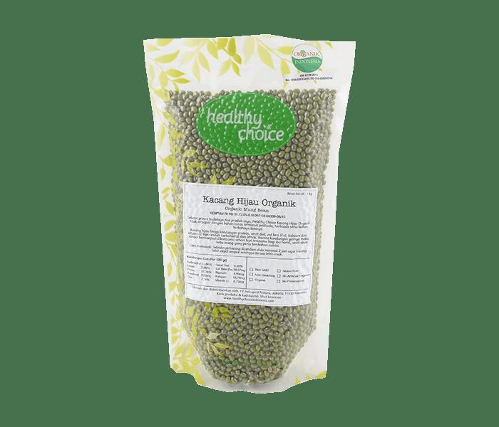 Healthy Choice Kacang Hijau Organik 1 kg