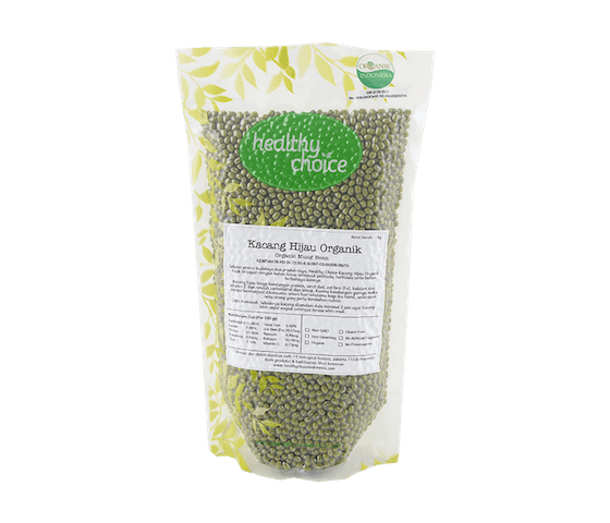 Healthy Choice Kacang Hijau Organik 1 kg