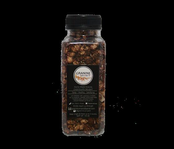 Granine Homemade Granola Chocolate Delight 130 gr
