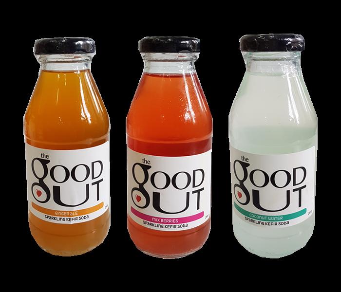 Good Gut 3 Days Balancing Kefir Soda Package