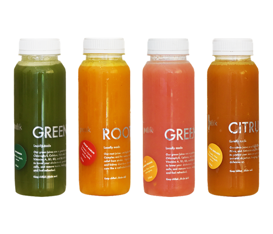 Petik Jus Cold Pressed 4 Packs 250 ml