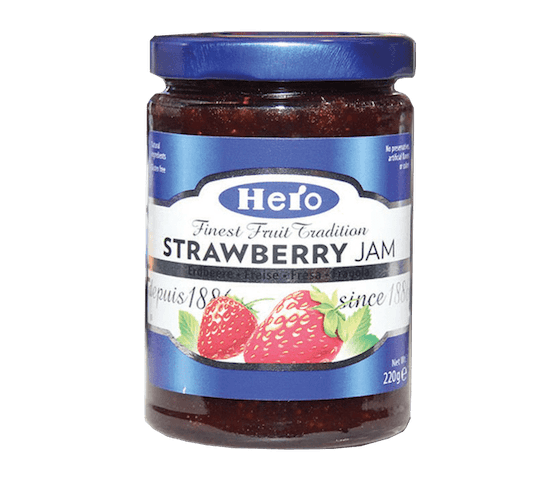 Hero Jam Strawberry 220 gram
