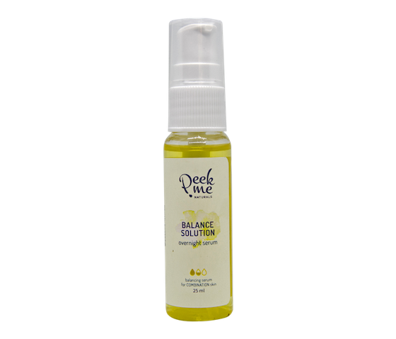 Peek.Me Naturals Balance Solution Overnight Serum