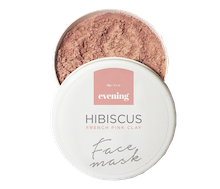 Evening Hibiscus French Pink Clay Face Mask 50 gr
