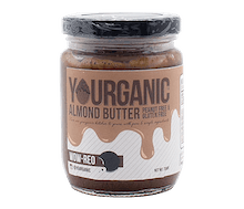 Yourganic Almond Butter WOW-REO