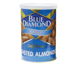 Blue Diamond Salted California Roasted Almond 130 gr
