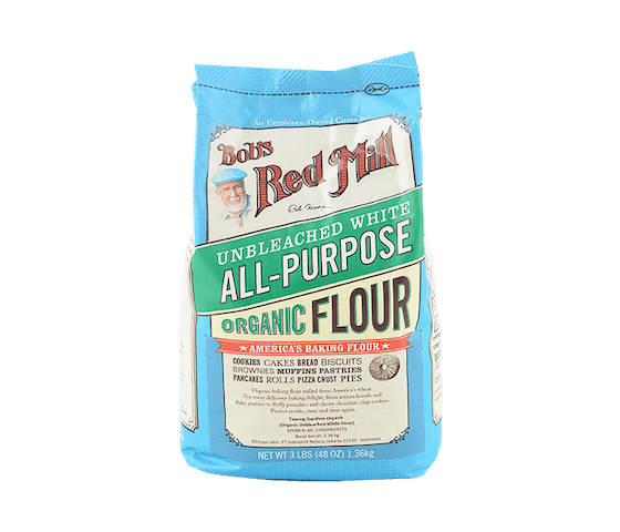 Bob's Red Mill Organic All Purpose Unbleached White Flour 1.3 kg