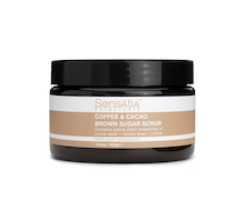 Sensatia Botanicals Coffee & Cacao Brown Sugar Scrub 300 gr
