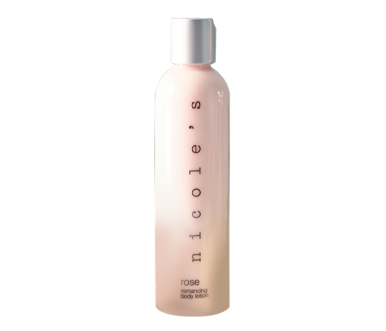 Nicole's Natural Calming Body Lotion Romancing Rose