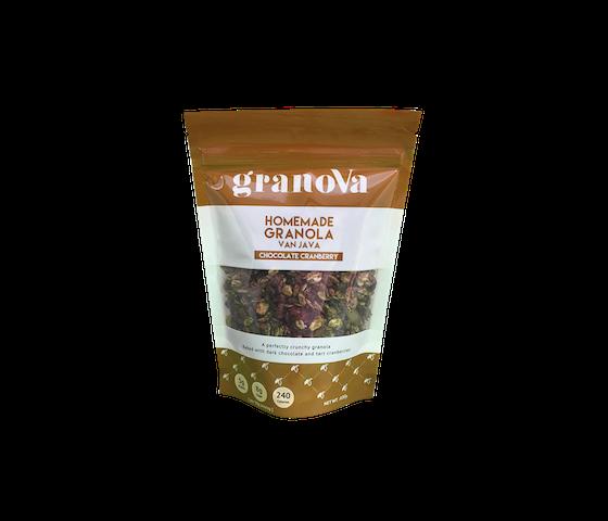 Granova Homemade Granola Chocolate Cranberry 100 gr