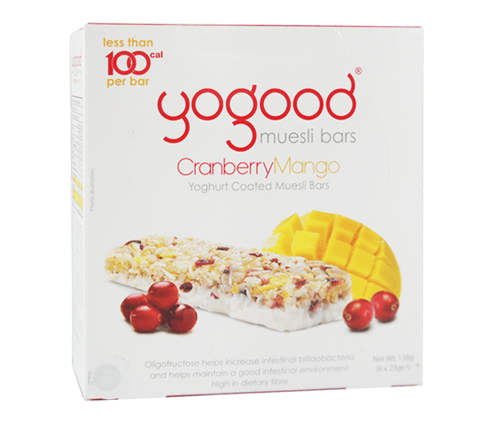 Yogood Muesli Bar Cranberry Mangga (Box)