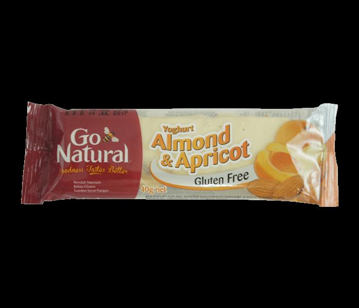 Jual Go Natural Bar Yogurt Almond Aprikot hanya di Lemonilo.com