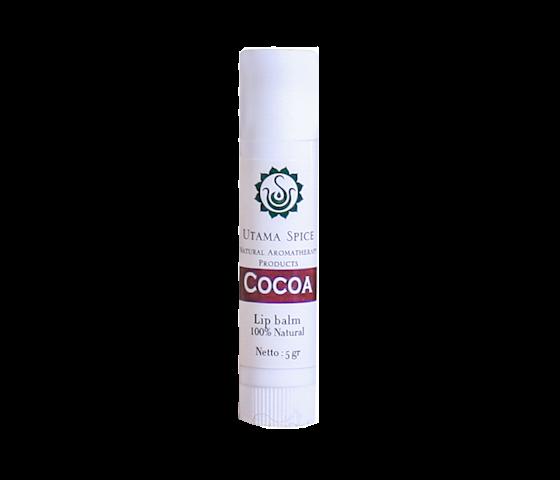 Utama Spice Cocoa Lip Balm 100% Natural 5 gr