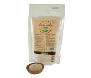 Trio Tepung Gandum Whole Wheat 450 gr