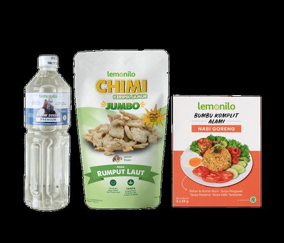 Lemonilo Paket Nasi Goreng & Keripik Sehat