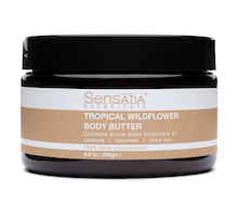 Sensatia Botanicals Tropical Wildflower Body Butter 250 gr