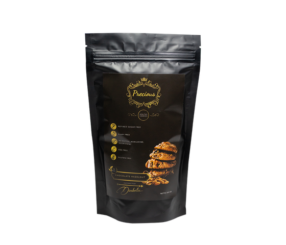 Precious Premium Healthy Cookie Chocolate Hazelnut 160 gr