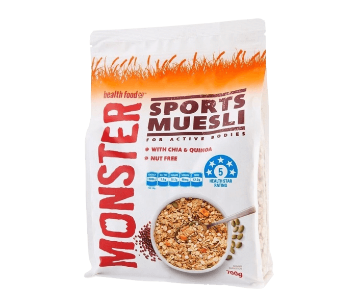 Jual Monster Sports Muesli hanya di Lemonilo.com