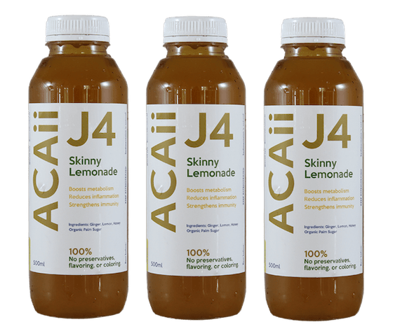 Acaii Skinny Lemonade Juice Pack of 3