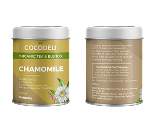 Cocodeli Organic Tea & Blends Chamomile Green Tea